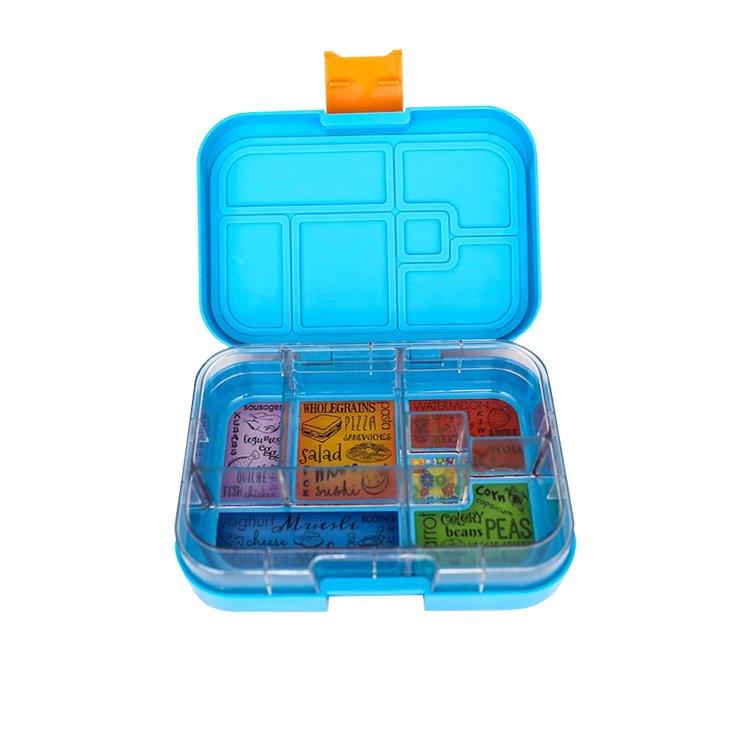 Munchbox Maxi 6 Bento Box Blue Ocean