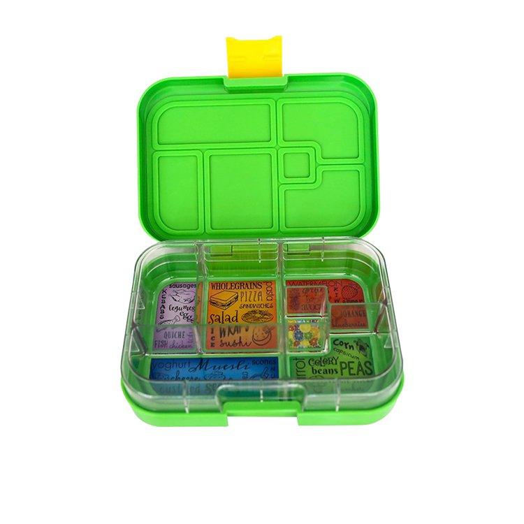 Munchbox Maxi 6 Bento Box Green Jungle