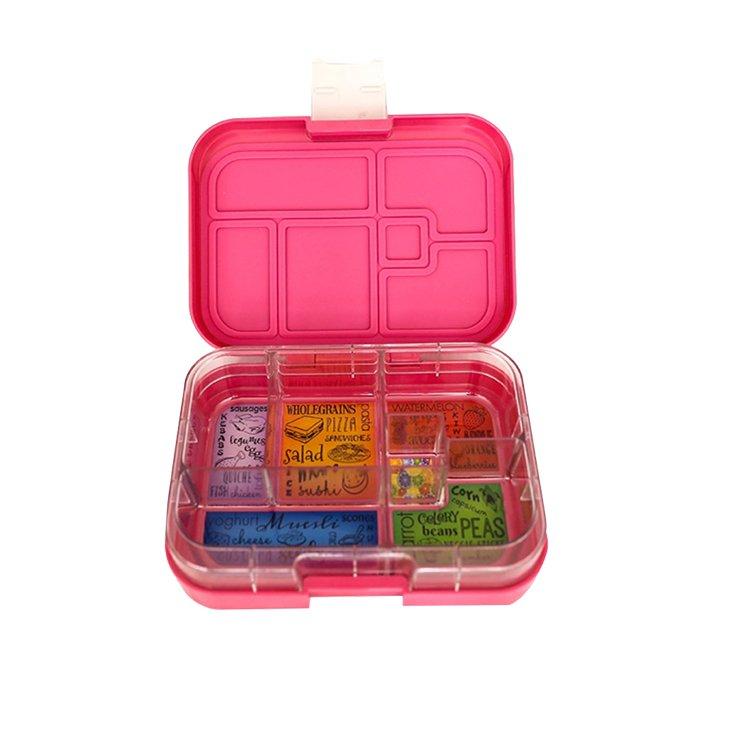 Munchbox Maxi 6 Bento Box Pink Princess