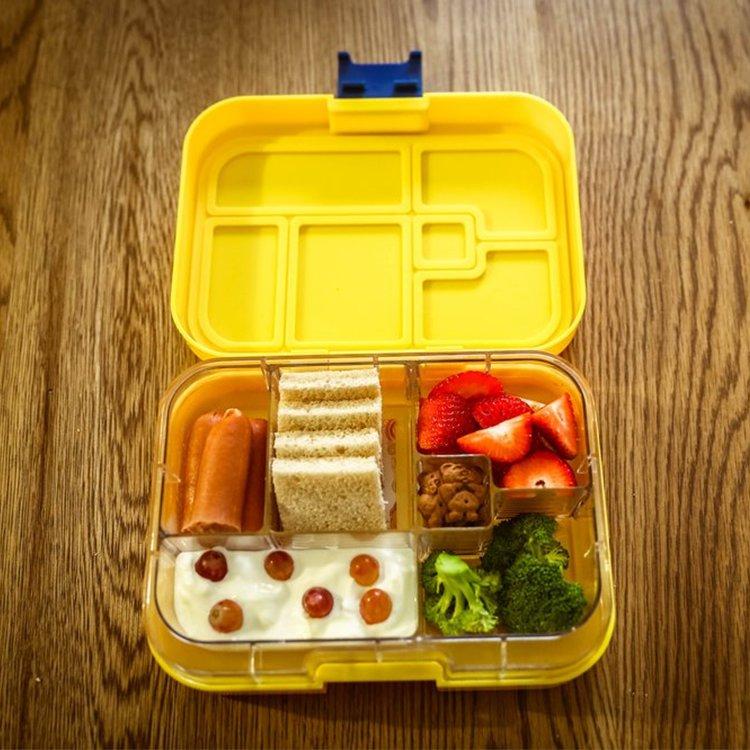 Munchbox Maxi 6 Bento Box Yellow Sunshine