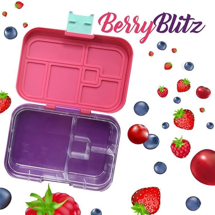 Munchbox Mini 4 Bento Box Berry Blitz image #4