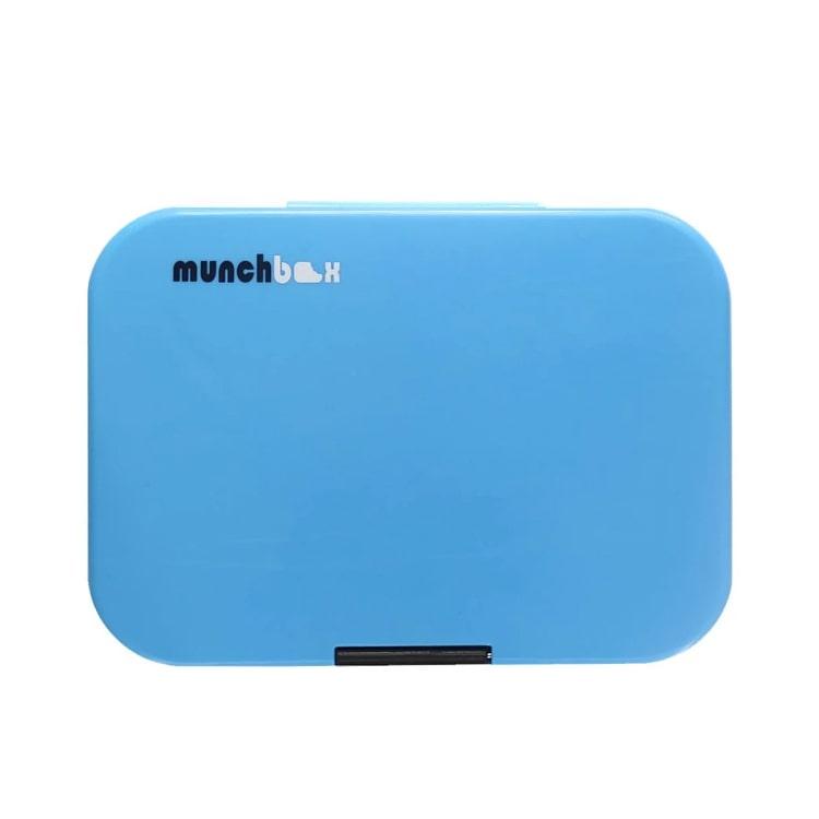 Munchbox Mega 4 Bento Box Electric Blue