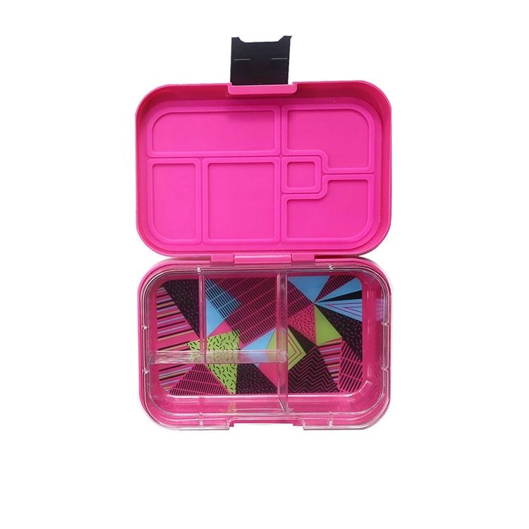 Munchbox Mega 4 Bento Box Fuchsia Tint