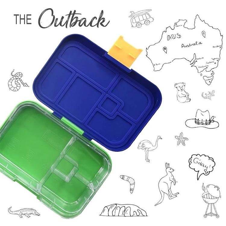 Munchbox Mini 4 Bento Box The Outback