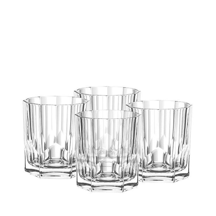 Nachtmann Aspen Whiskey Glass Set of 4