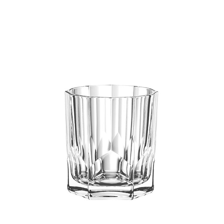 Nachtmann Aspen Whiskey Glass 3pc Set Decanter with 2 Whiskey Tumblers