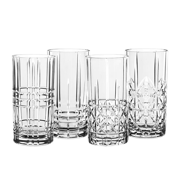 Nachtmann Highland Mixed Glass Long Drink 375ml Set of 4
