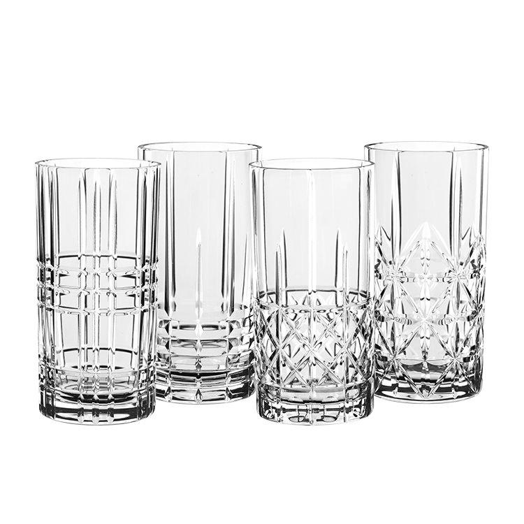 Nachtmann Highland Mixed Glass Long Drink 375ml Set of 4
