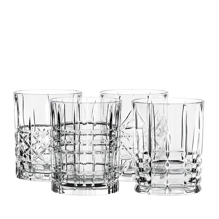 Nachtmann Highland Mixed Glass Tumblers 345ml Set of 4
