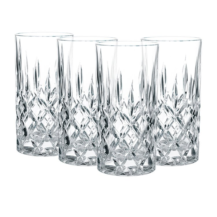 Nachtmann Noblesse Long Drink 375ml Set of 4