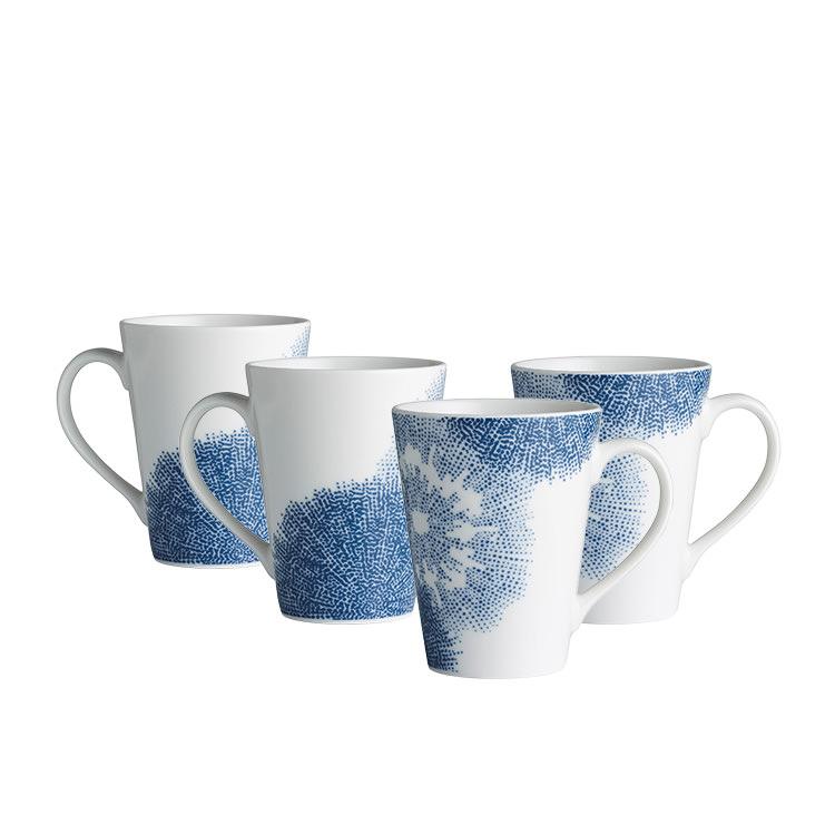 Noritake Aozora Mug 350ml Set of 4
