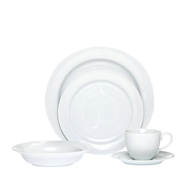 Noritake Artic White 20pc Dinner Set