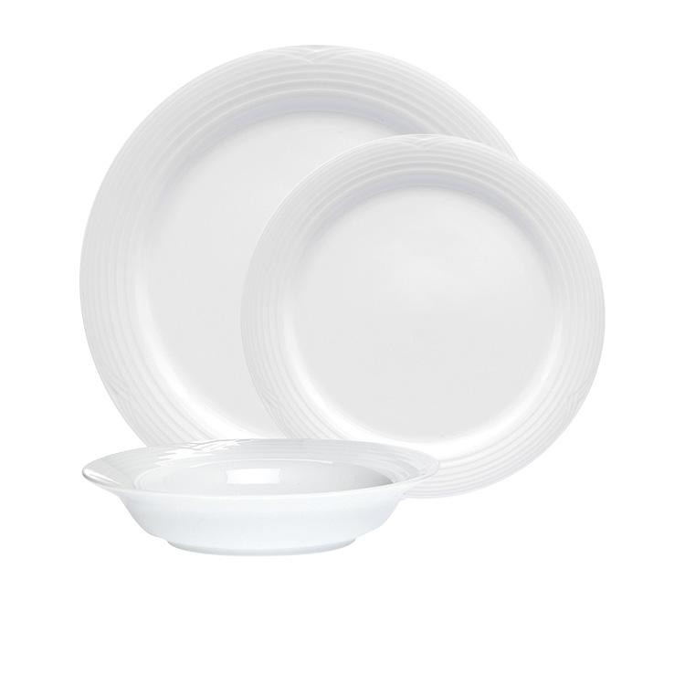 Noritake Arctic White Dinner Set 12pc