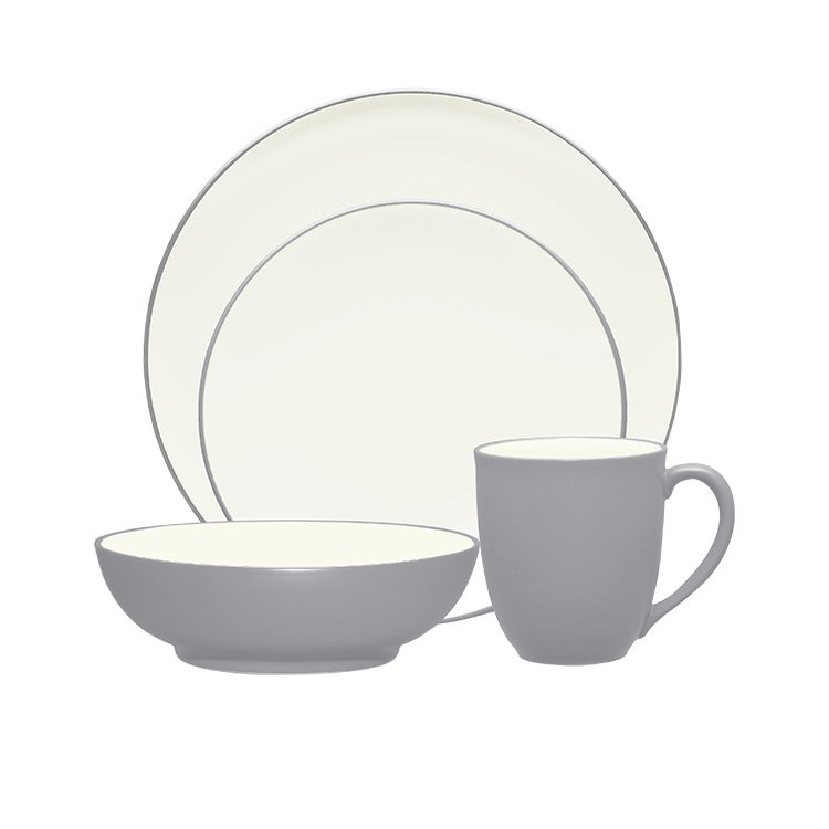 Noritake Colorwave Slate 16pc Dinner Set $170.05  sc 1 st  Kitchen Warehouse : noritake dinnerware set - Pezcame.Com