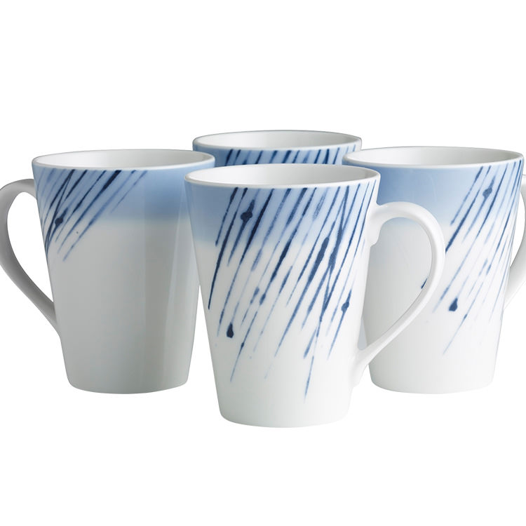 Noritake Hanabi Mug 350ml Set of 4