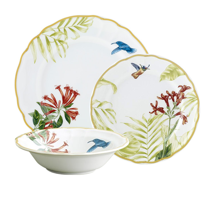 Noritake Hummingbird Meadow 12pc Dinner Set
