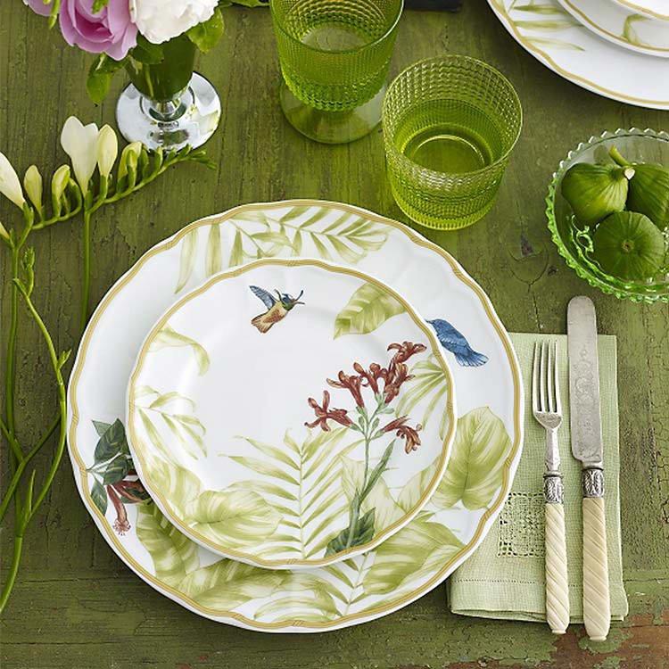 Noritake Hummingbird Meadow 12pc Dinner Set