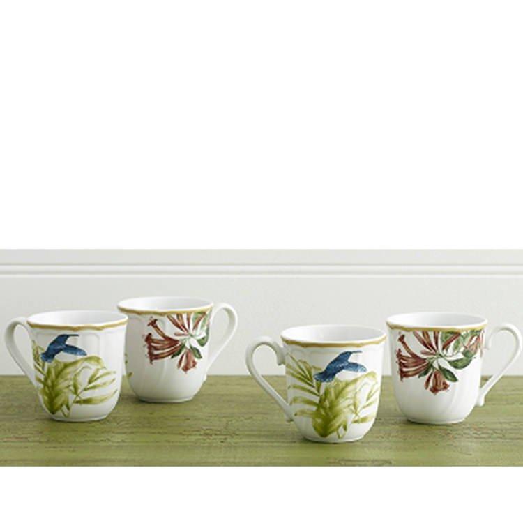 Noritake Hummingbird Meadow Mug Set of 4