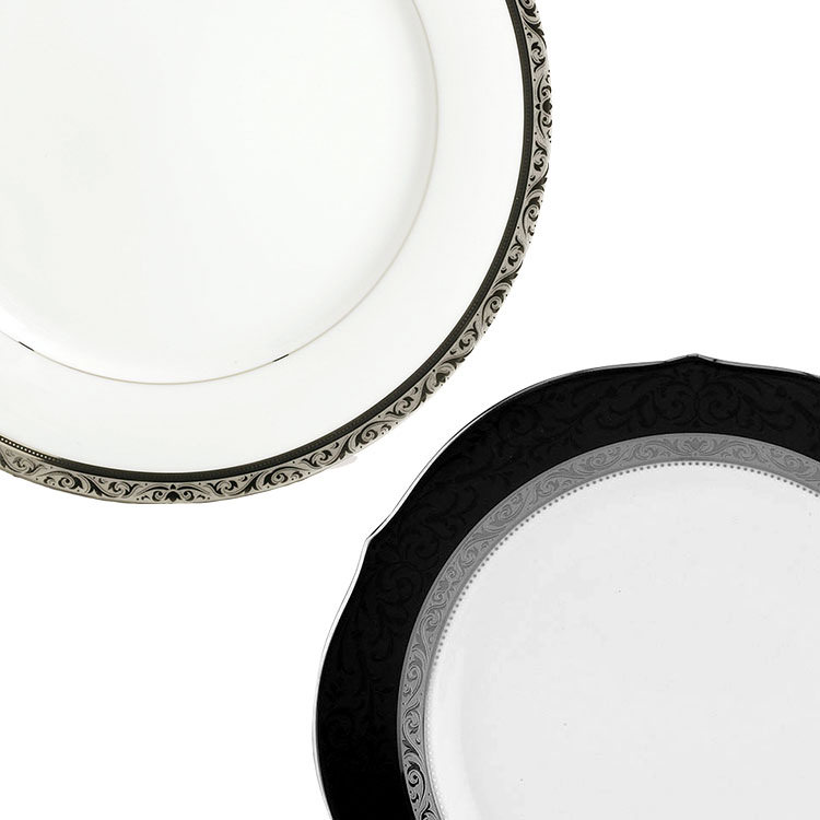 Noritake Regent Platinum Dinner Set 12pc