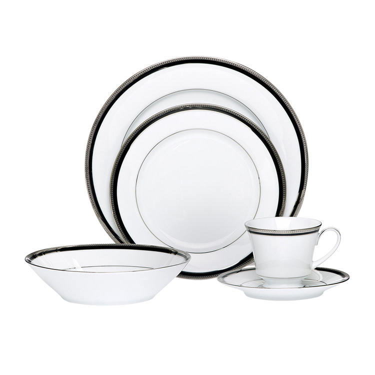 Noritake Toorak Noir 20pc Dinner Set