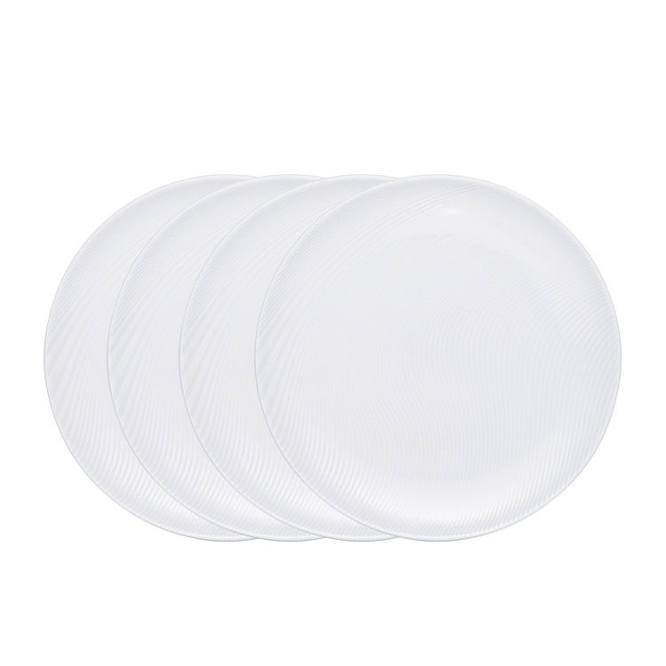 Noritake WoW Dune Coupe Dinner Plate Set of 4