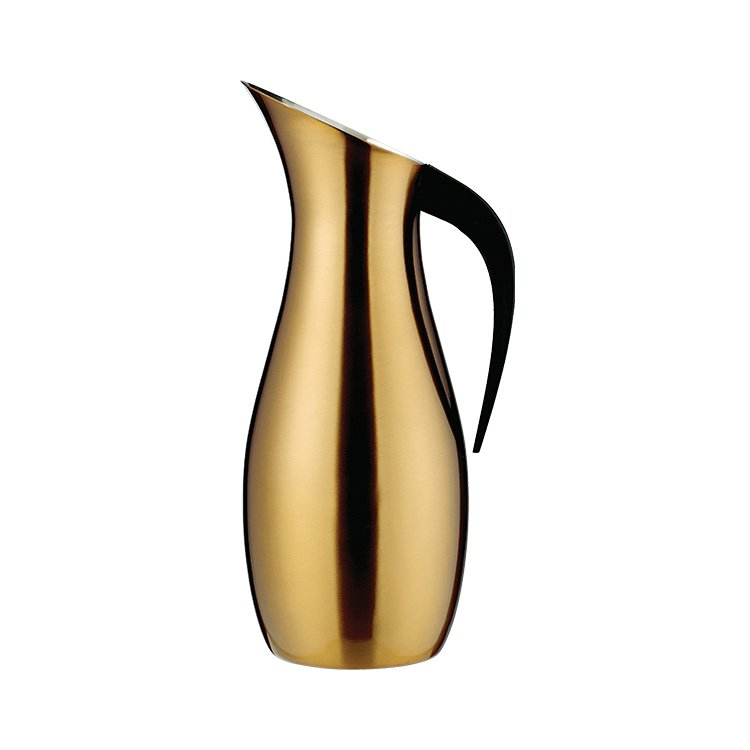 Nuance Penguin Water Pitcher 1.7L Brass