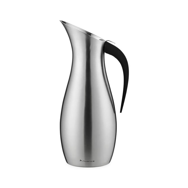 Nuance Penguin Water Pitcher 1.7L Brushed Stainless Steel