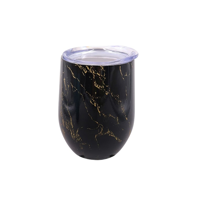 Oasis Double Wall Insulated Wine Tumbler 330ml Gold Onyx