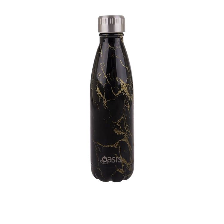 Oasis Double Wall Insulated Drink Bottle 500ml Gold Onyx