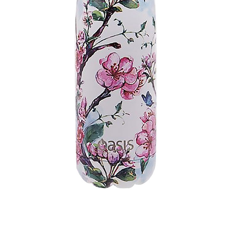 Oasis Double Wall Insulated Drink Bottle 500ml Spring Blossom