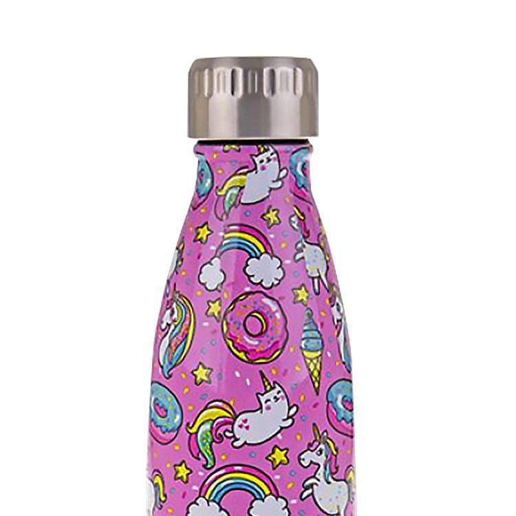Oasis Double Wall Insulated Drink Bottle 500ml Unicorns