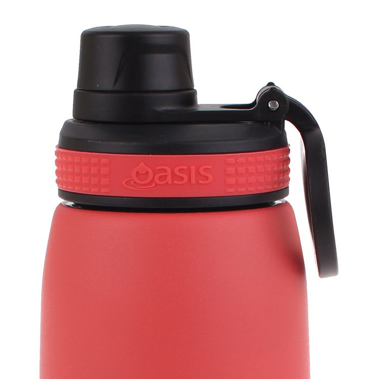 Oasis Double Wall Insulated Sports Bottle 780ml Coral