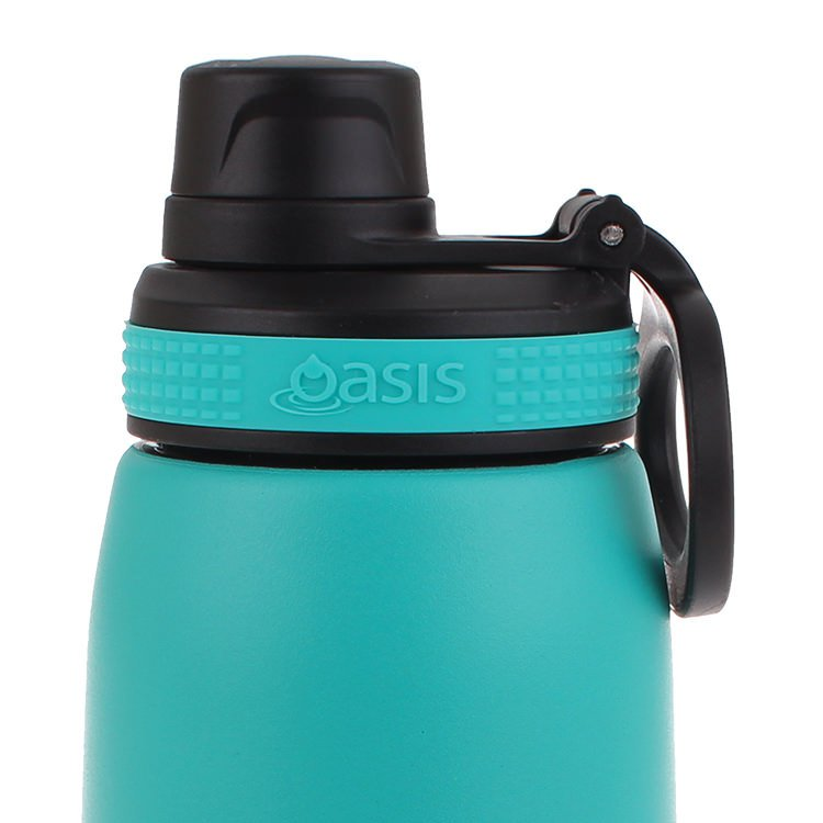 Oasis Double Wall Insulated Sports Bottle 780ml Turquoise image #2