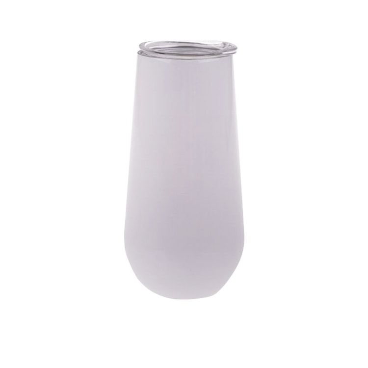 Oasis Double Wall Insulated Champagne Flute 180ml White