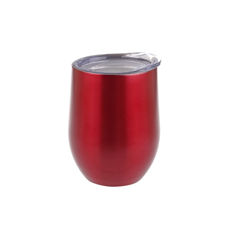 Oasis Double Wall Insulated Wine Tumbler 330ml Ruby