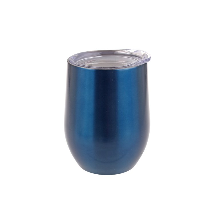 Oasis Double Wall Insulated Wine Tumbler 330ml Sapphire