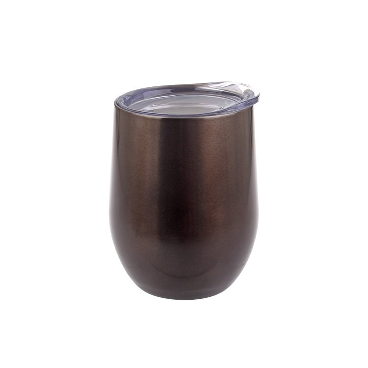 Oasis Double Wall Wine Tumbler 330ml Smoke (4pcs)