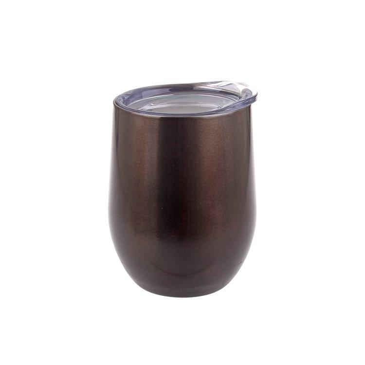 Oasis Double Wall Insulated Wine Tumbler 330ml Smoke