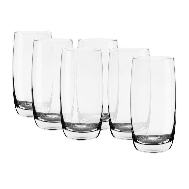 Ocean Ivory Hi-Ball Glass 370ml Set of 6