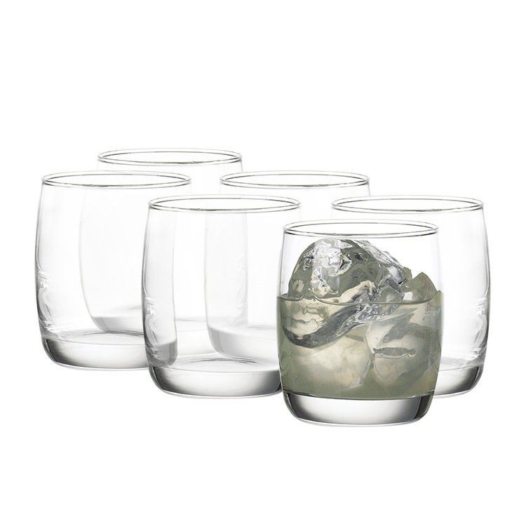 Ocean Ivory Rock Tumbler 256ml Set of 6