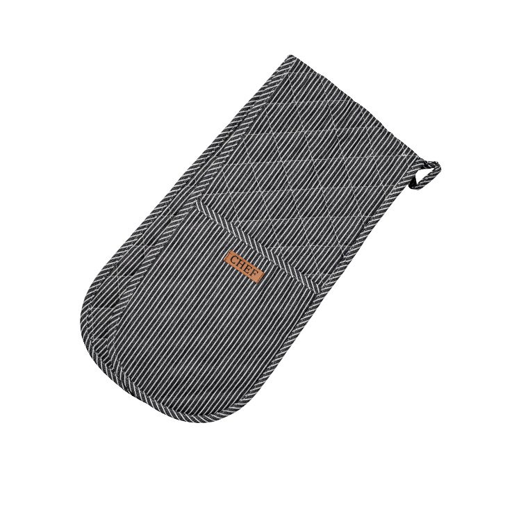 Ogilvies Designs Chef Stripe Double Ended Mitt Navy