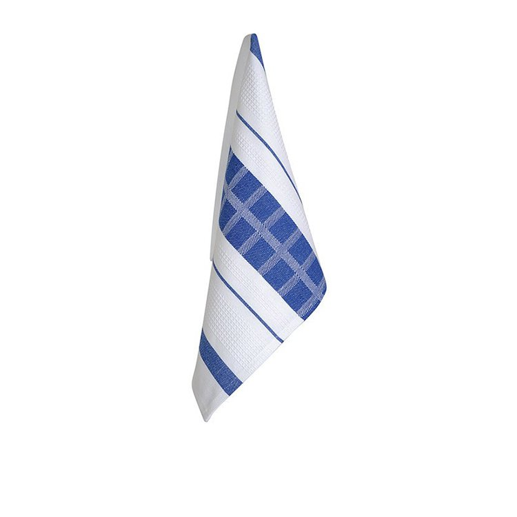 Ogilvies Designs Cubix Tea Towel Blue