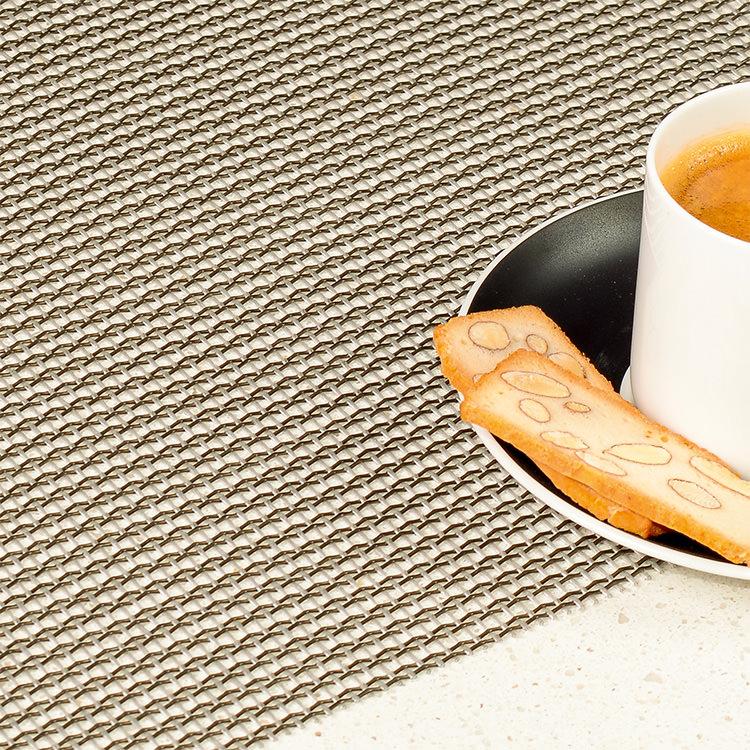 Ogilvies Designs Net Placemat Steel
