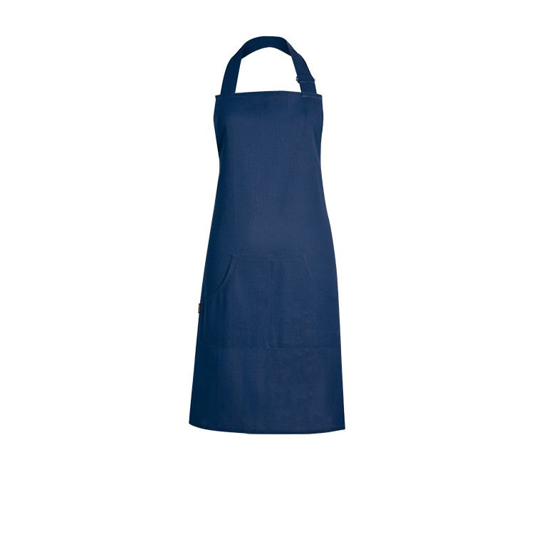 Ogilvies Designs Plain Poppy Apron Blue Fast Shipping