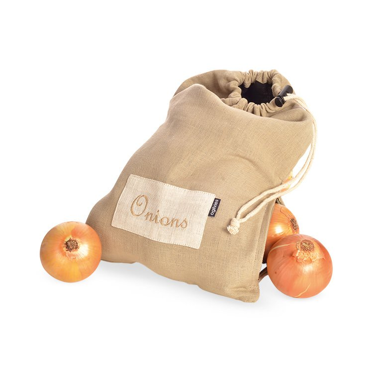 Ogilvies Designs Provincial Linen Onion Bag