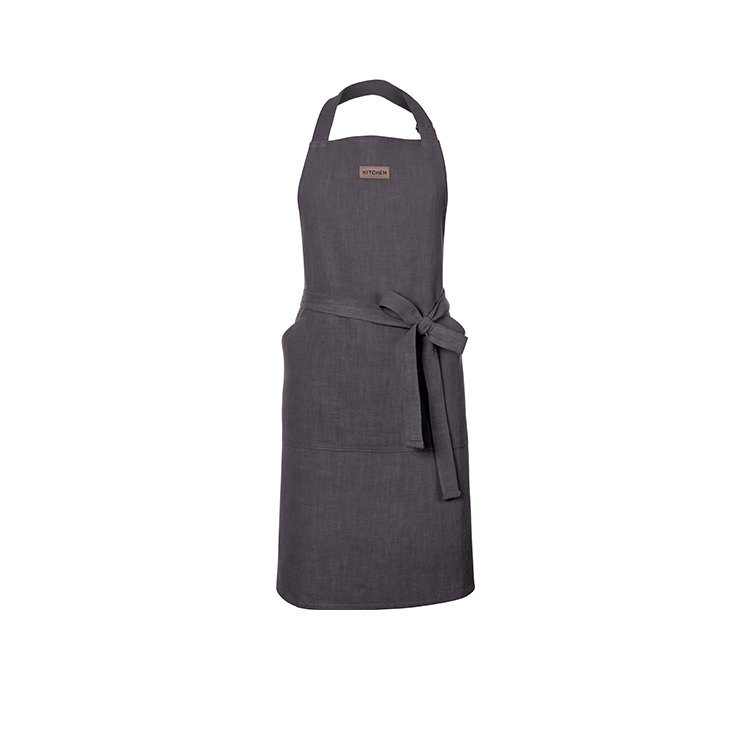 Ogilvies Designs Ramie Eco Apron Charcoal