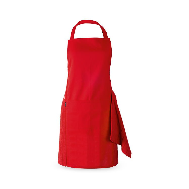 Ogilvies Designs Terry Apron Set Red Fast Shipping