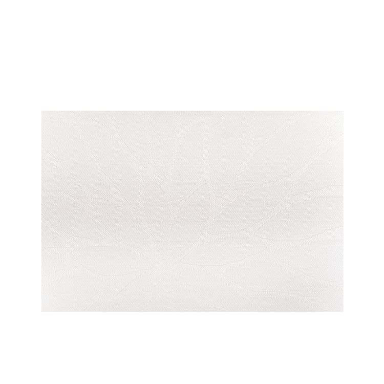 Ogilvies Designs Woven Living Leaf Placemat White