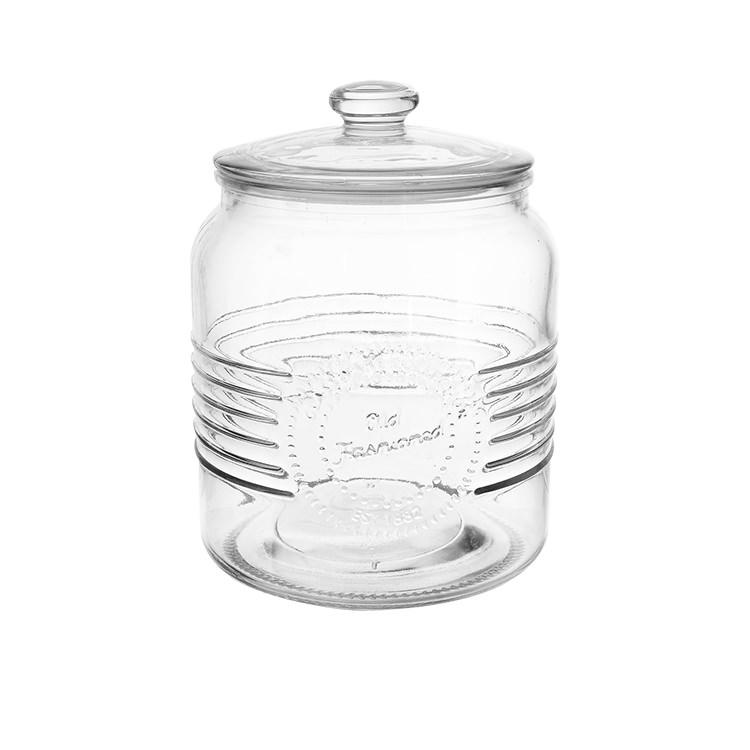 Salisbury & Co Old Fashioned Cookie Jar w/ Glass Lid 2L
