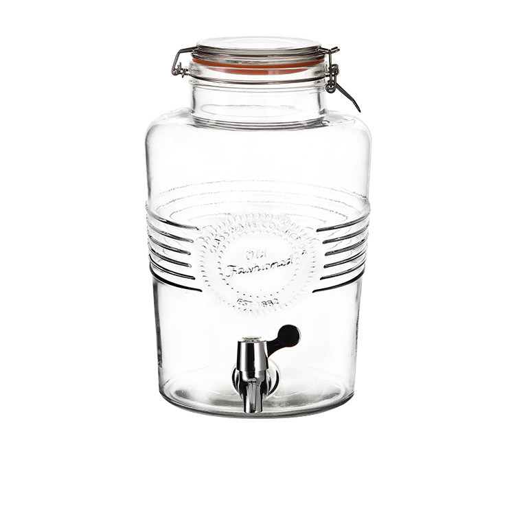 Salisbury & Co Old Fashioned Clip Top Drink Dispenser 6L